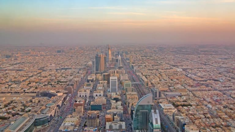 Riyadh, the capital of Saudi Arabia, which the Saudis say was the target of missile fired from Yemen on Tuesday.