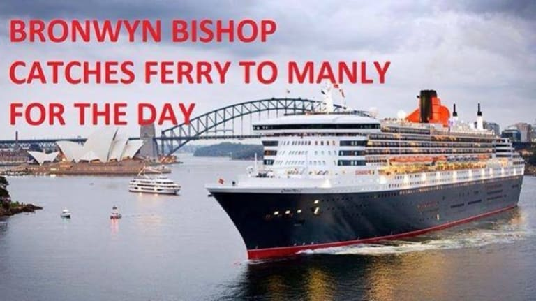 The internet takes on the Bronwyn Bishop expenses scandal.
