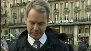 BBC reporter Graham Satchell in Paris.