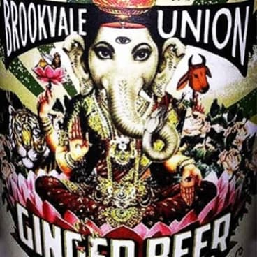 The original Brookvale Union ginger beer logo.