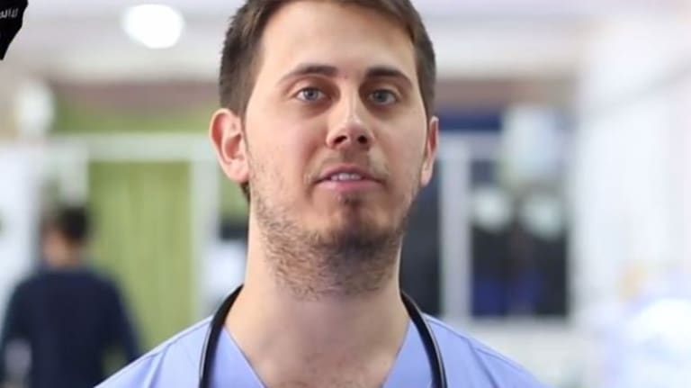 Tareq Kamleh first appeared in a propaganda video in early 2015.