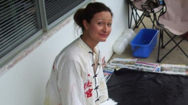 Perth artist Jodi Magi was arrested and jailed in Abu Dhabi.