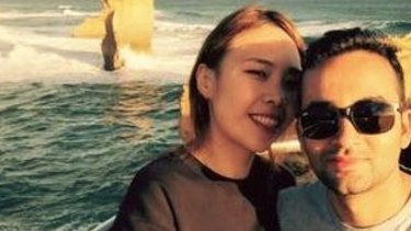 Stella Kim and her partner Sushil Lamichhane were dining at The Ranch in North Ryde when their group was allegedly served a steak with maggots on it.