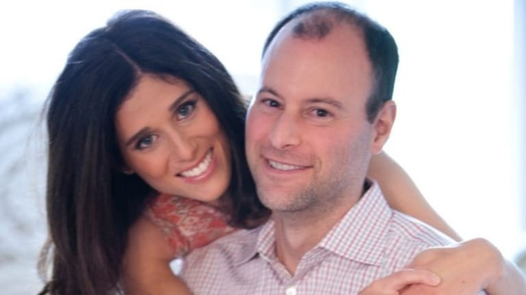 Noel and Amanda Biderman, the happily married founders of the Ashley Madison dating website.