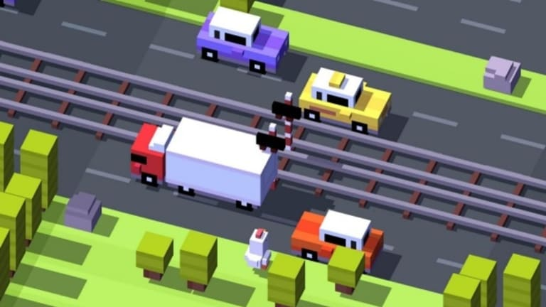 The incredibly popular <i>Crossy Road</i>, a blend of classic game <i>Frogger</i>, <i>Flappy Bird</i>, and Hipster Whale's friendly approach to monetisation, caught the eye of more than just gamers.