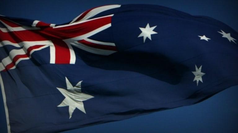 Australia's flag.