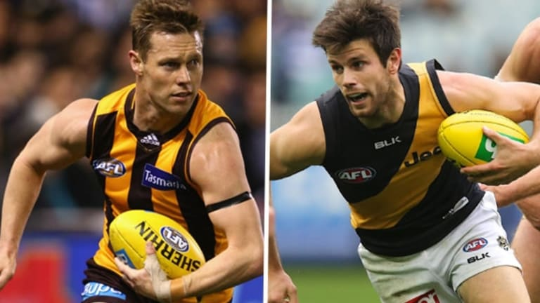 Sam Mitchell and Trent Cotchin are the league's newest Brownlow medallists.
