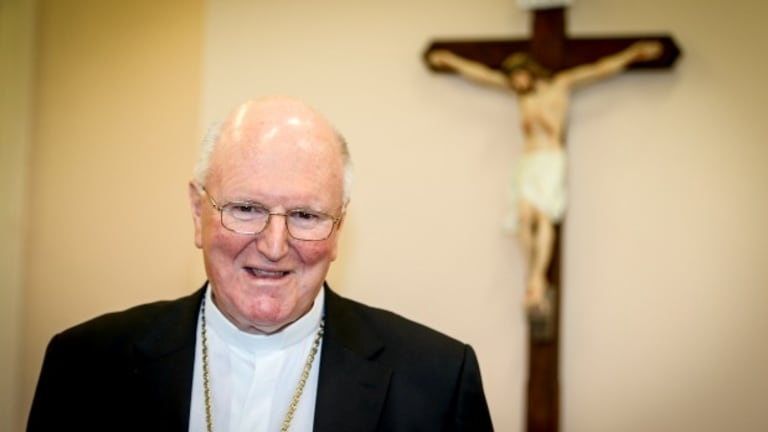 Archbishop Denis Hart of Melbourne stoked concerns with this threat that church staff could be fired.
