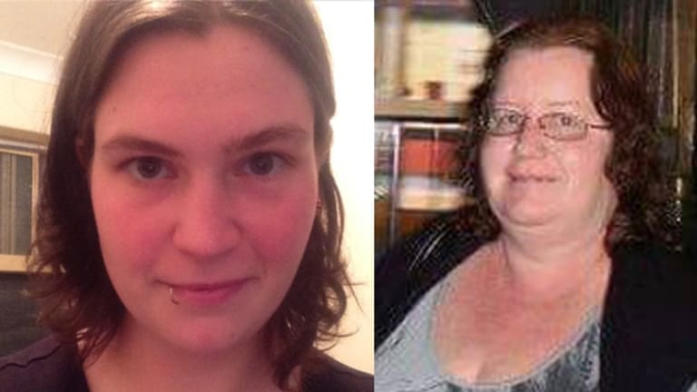 Jemma Lilley, left, and Trudi Lenon have pleaded not guilty to the murder of 18-year-old Aaron Pajich.