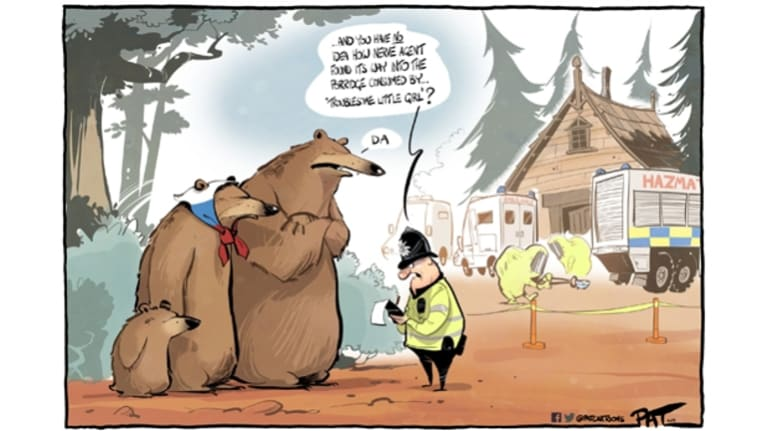 The Canberra Times editorial cartoon for Tuesday, March 19, 2018. Photo: Pat Campbell