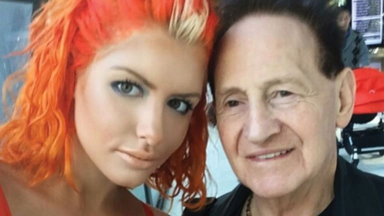 The new Mr and Mrs Edelsten. The highly public pair married in private in Melbourne.