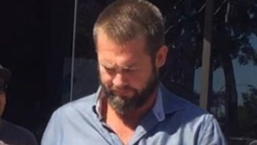Former Eagle Ben Cousins is accused of driving under the influence of drugs.