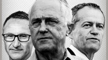 Although there is disappointment about Malcolm Turnbull's performance, putting him in front is the right choice.