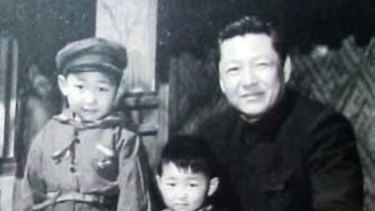 Xi Zhongxun and his sons.