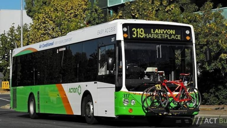 Seniors at the Council on the Ageing ACT's public forum on Wednesday asked for more accessible public transport.