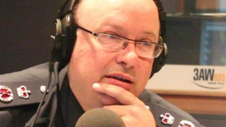 """Chief Commissioner Graham Ashton told 3AW police almost """"had the car"""" a couple of times on Friday."""