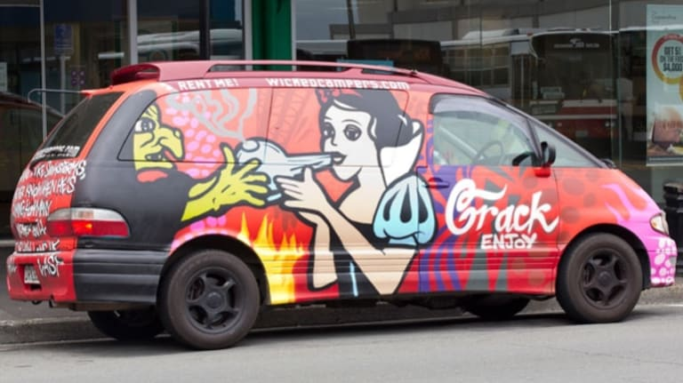 The Palaszczuk Government has found a way to get Wicked camper vans' offensive slogans off Queensland roads- unless the company cleans up its act.