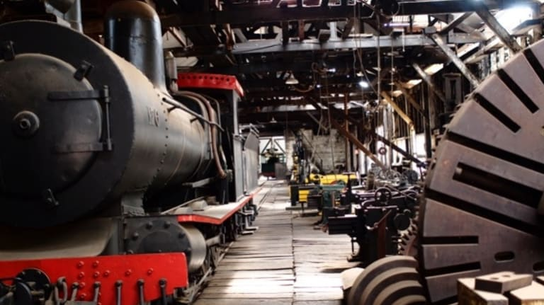 """The Yarloop museum was described as """"one of the finest examples of steam age engineering in the world""""."""