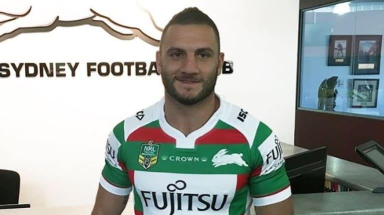 New start: Robbie Farah.