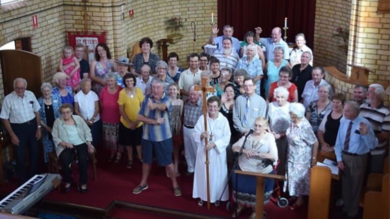 St Peter's in Proston shut its doors last month after more than 70 years.
