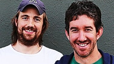 Mike Cannon-Brookes and Scott Farquhar, co-founders of Atlassian. The company bypassed the ASX and listed directly on NASDAQ.