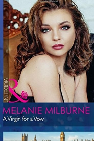 <i>A Virgin for a Vow</I> by Melanie Milburne, who recently declared she was ashamed of some of her early books.