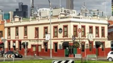 The Corkman Irish Pub, previously known as the Carlton Inn.