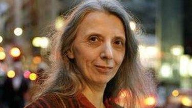 Poet and author Jennifer Maiden.