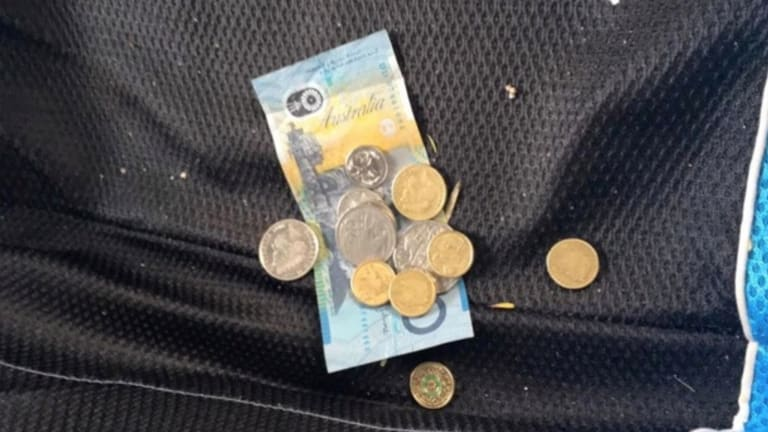 Mr Drury discovered the money when checking what had been taken from his car.