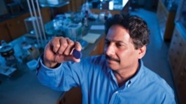Professor Mas Subramanian and his team accidentally discovered a new blue pigment with applications for energy efficiency.