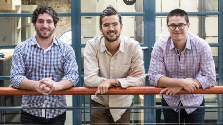 Edrolo founders Jeremy Cox, Duncan Anderson and Ben Sze's faith in their company has paid off.