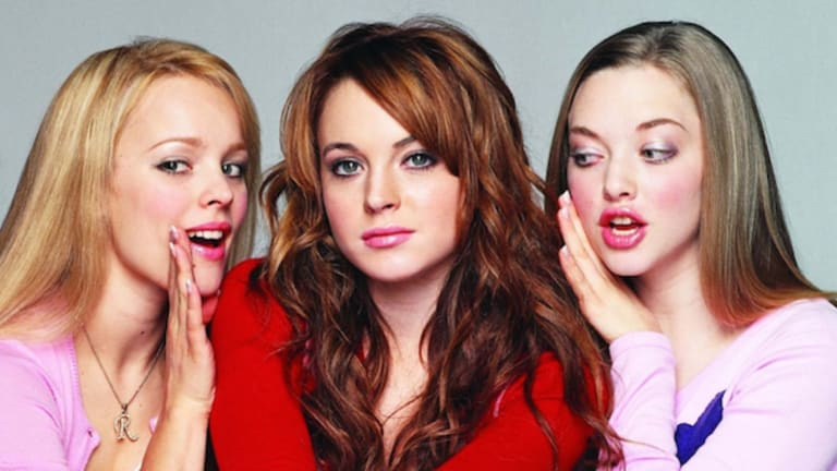 The cast of <i>Mean Girls</i> the movie.