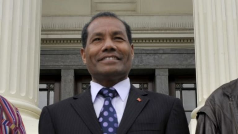 East Timor's ambassador to Australia Abel Guterres