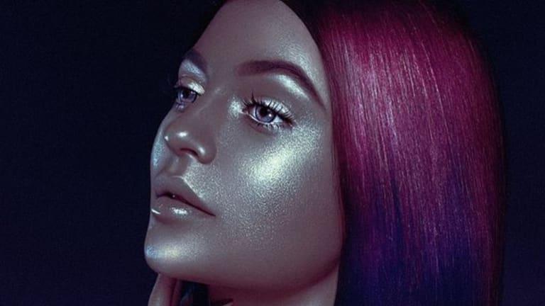 """The photo shoot where Kylie Jenner looks like she is doing """"blackface""""."""