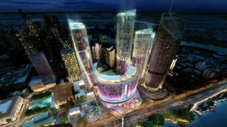 An artist's impression of the Queen's Wharf project
