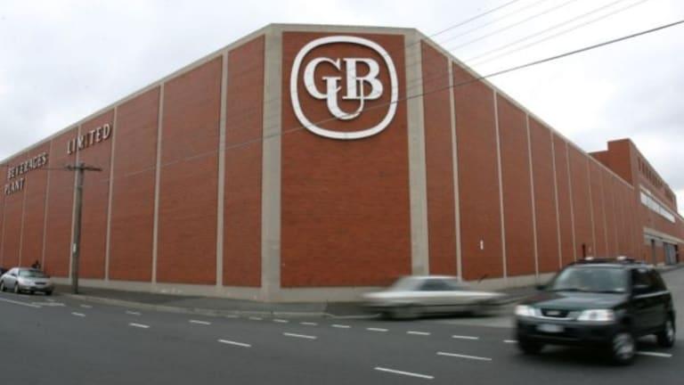 CUB's Abbotsford plant.