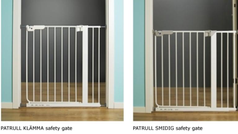 Patrull children's safety gates.