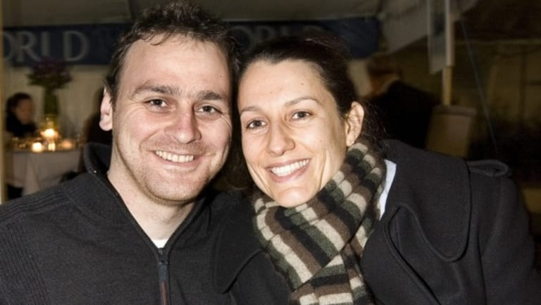 Lecretia Seales, seen with her husband Matt Vickers in 2009, passed away early Friday.