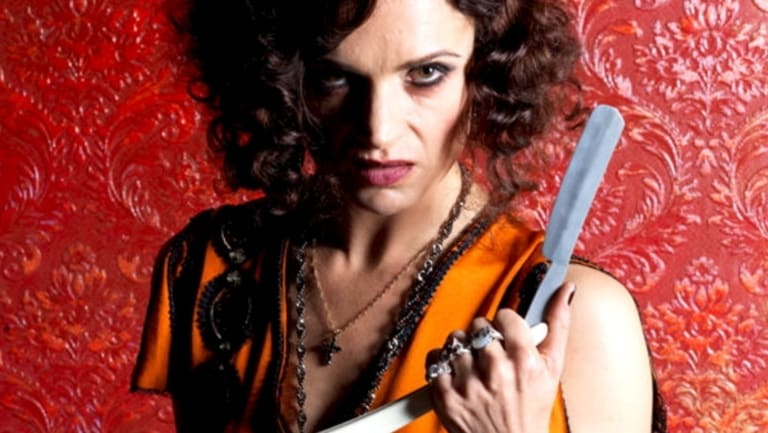 Danielle Cormack in Underbelly Razor.