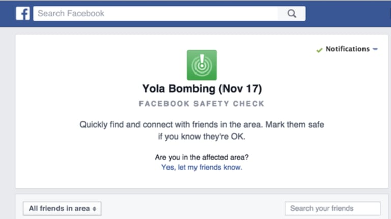 Facebook has switched on its Safety Check feature in response to the Nigeria bombing.