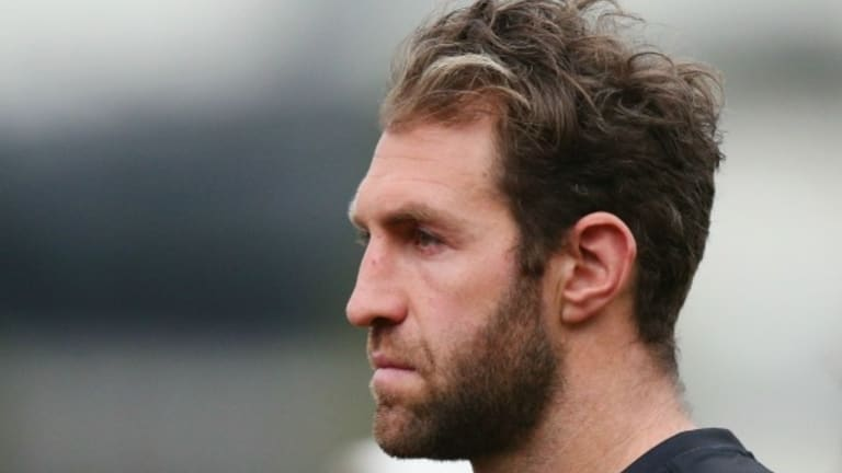Paintful times for Travis Cloke the Magpie.