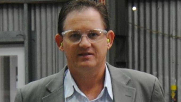David Campbell, a business partner of Rohan Arnold, runs a steel manufacturing business and an international imports business.