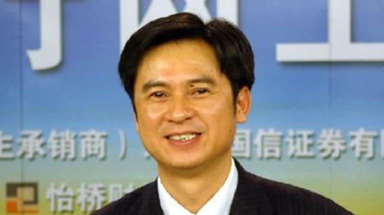 Chinese ball-bearing billionaire Ma Xingfa.