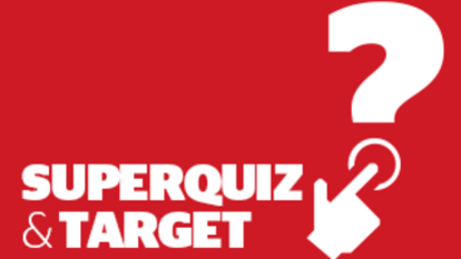 Good Weekend Superquiz and Target, Saturday, July 20