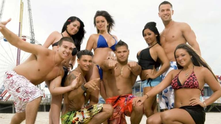 Who you lookin' at? Trashy reality shows such as Jersey Shore have dominated MTV's schedule this decade.