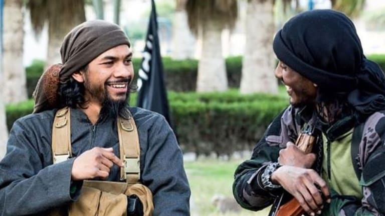 Authorities believe Neil Prakash, pictured left, may have entered Turkey in attempt to flee Islamic State.