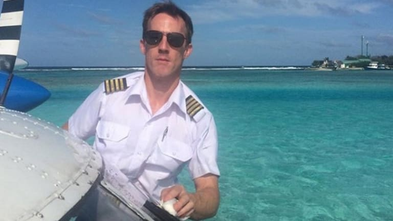Gareth Morgan was the pilot of the Sydney Seaplane that crashed in the Hawkesbury.