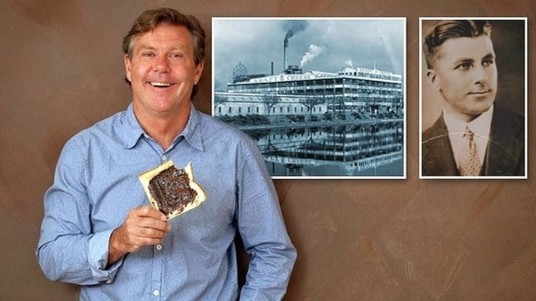 Jamie Callister became obsessed with the story of how his grandfather, Cyril, invented Vegemite.