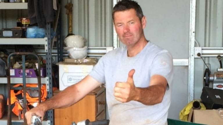 Mark Tromp was found on Saturday afternoon.
