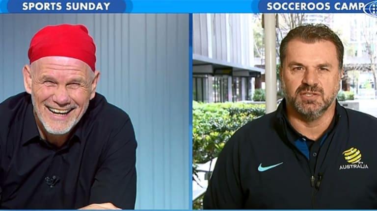Peter FitzSimons and Ange Postecoglou on Sports Sunday.